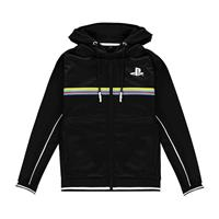 Difuzed Sony PlayStation Hooded Sweater Color Stripe Size XL