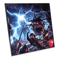 Nemesis Now Dungeons & Dragons Crystal Clear Picture Monster Manual 32 x 32 cm