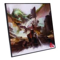 Nemesis Now Dungeons & Dragons Crystal Clear Picture Starter Set 32 x 32 cm