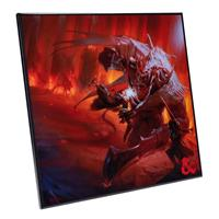 Nemesis Now Dungeons & Dragons Crystal Clear Picture Players Handbook 32 x 32 cm