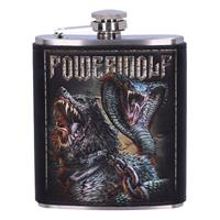 Nemesis Now Powerwolf Hip Flask Logo