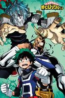 GB eye My Hero Academia Poster Pack Collage 61 x 91 cm (5)