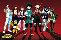 GB eye My Hero Academia Poster Pack Line Up 61 x 91 cm (5)