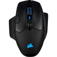 Corsair Dark Core RGB Pro Wireless Optical Gaming Mouse 18000 DPI Backlit RGB LED - Black