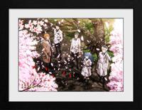GB eye Tokyo Ghoul Collector Print Framed Poster Sakura Blossom