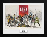 GB eye Apex Legends Collector Print Framed Poster Group