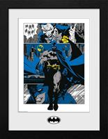 GB eye Batman Collector Print Framed Poster Panels