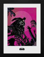GB eye Batman Collector Print Framed Poster Arkham