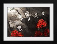 GB eye Tokyo Ghoul Collector Print Framed Poster Red Flowers