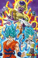 GB eye Dragon Ball Super Poster Pack God Super 61 x 91 cm (5)