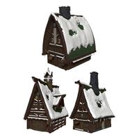 Wizkids D&D Icons of the Realms Icewind Dale: Rime of the Frostmaiden Papercraft Set Ten Towns