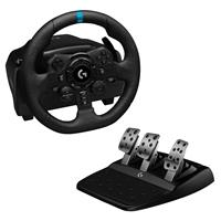 logitech G923 Racing Wheel and Pedals for PS4 and PC - USB