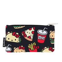 Loungefly Hello Kitty by  Coin/Cosmetic Bag Snacks AOP