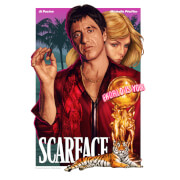 Scarface Limited Edition Fine Art Giclee