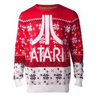 Difuzed Atari Knitted Christmas Sweater Atari Logo Size S