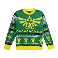 Difuzed Legend of Zelda Knitted Christmas Sweater Hyrule Bright Size L