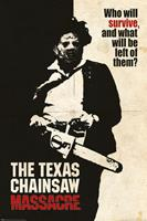 Pyramid International Texas Chainsaw Massacre Poster Pack Who Will Survive? 61 x 91 cm (5)