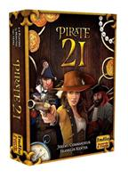 Quick Simple Fun Games Pirate 21 Card Game *English Version*