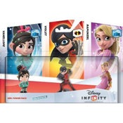 Disney - Disney Infinity Girl Power Three-Pack: Vaneloppe, Violet and Rapunzel Collectible Figures (1059560)
