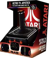 Blaze Atari TV Plug and Play Joystick (50 Built-In Games)