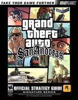 Brady Games Grand Theft Auto San Andreas Guide (PS2)
