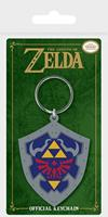 Pyramid International The Legend of Zelda - Hylian Shield Rubber Keychain