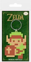 Pyramid International The Legend of Zelda - 8-Bit Link Rubber Keychain