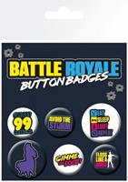 GB Eye Fortnite - Battle Royale Button Set