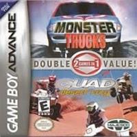Majesco Monster Trucks + Quad Desert Fury