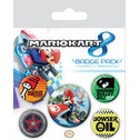 Pyramid International Mario Kart 8 Drift Badge Pack