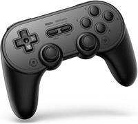 8Bitdo SN30 Pro+ Bluetooth Gamepad (Black Edition)