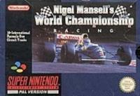Nintendo Nigel Mansell's World Championship Racing
