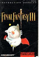 Nintendo Final Fantasy III (snes)