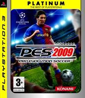 Konami Pro Evolution Soccer 2009 (platinum)