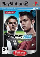 Konami Pro Evolution Soccer 2008 (platinum)