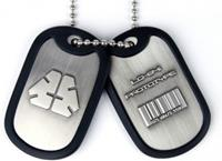Gaya Entertainment Metal Gear Rising Dog Tags LQ-84i Prototype