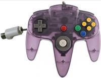 Teknogame Nintendo 64 Controller Paars Transparant ()