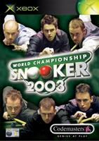Codemasters World Championship Snooker 2003