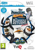 THQ De Pinguins van Madagascar Dr. Blowhole keert weer Terug (uDraw) Wii