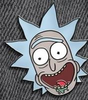Paladone Rick and Morty - Rick Enamel Pin Badge