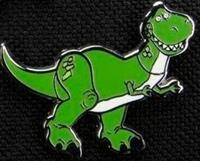 Paladone Toy Story - Rex Enamel Pin Badge