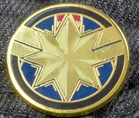 Paladone Marvel Avengers Endgame Pin Badge - Captain Marvel