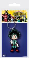 Pyramid International My Hero Academia - Deku Rubber Keychain