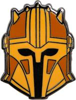 Paladone Star Wars The Mandalorian Enamel Pin Badge - Golden Helmet