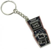Numskull Space Invaders - Arcade Metal Keychain