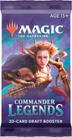 Wizards of the Coast Magic the Gathering TCG Commander Legends 20-Card Draft Booster