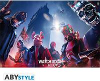 Abystyle Watch Dogs Legion Keyart Poster