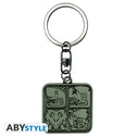 Abystyle Monster Hunter Symbols Metal Keychain