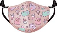 Difuzed Pusheen - Pink Adjustable Shaped Face Mask (1 Pack)