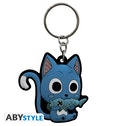 Abystyle Fairy Tail - Happy Rubber Keychain